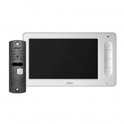 Цветной видеодомофон ARNY AVD-7005 (белый/серый) КОМПЛЕКТ
