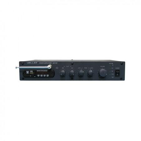 Усилитель-микшер 80ПП024М-FM/МР Vellez