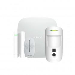 Комплект сигнализации Ajax StarterKit Cam Plus белий