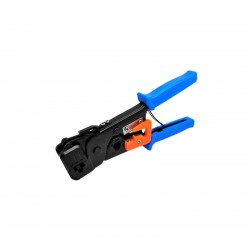 Инструмент MLT-1 для обжимки RJ-45 (8P8C) и RJ-12/11 (6P6C), Синие Q10