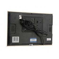 Цветной видеодомофон Slinex SL-10M черный + серебро