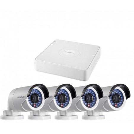 Комплект TurboHD видеонаблюдения Hikvision DS-J142I/7104HGHI-F1 (4 out)