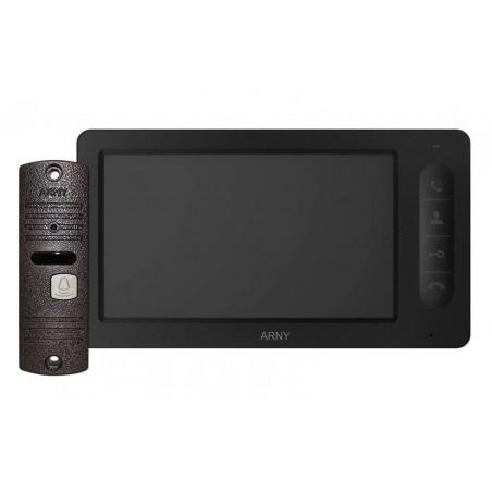 Цветной видеодомофон ARNY AVD-7006 (черный/медный)
