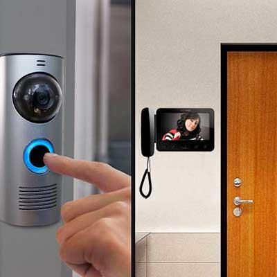 Установка домофонов и видеодомофонов в квартирах и офисах