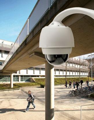 Применение роботизированных камер видеонаблюдения